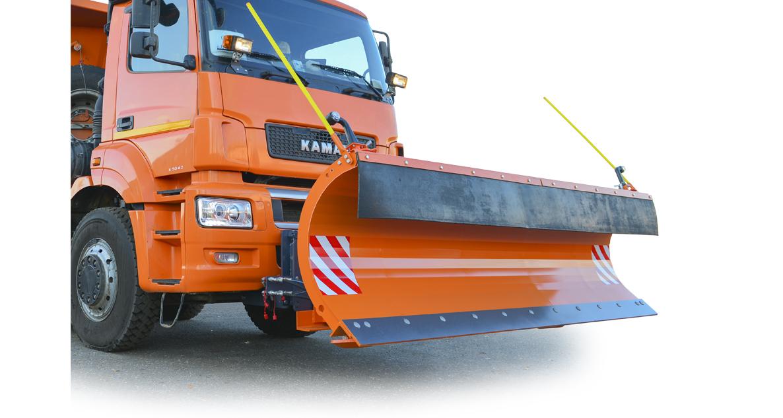 Автомобильный снегоуборочный передний отвал УПО-3 «Ураган»