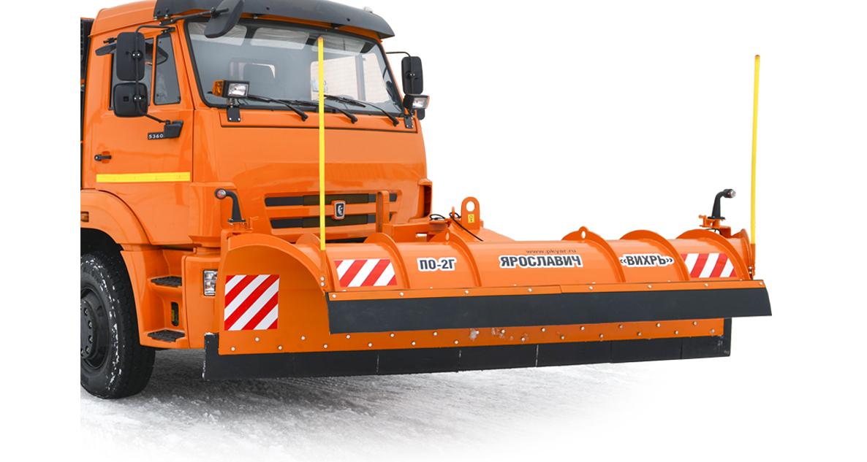 Автомобильный снегоуборочный передний отвал ПО-2 «Вихрь»