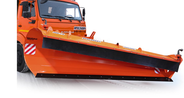 Автомобильный скоростной снегоуборочный отвал ПКО-2,6 «Циклон»